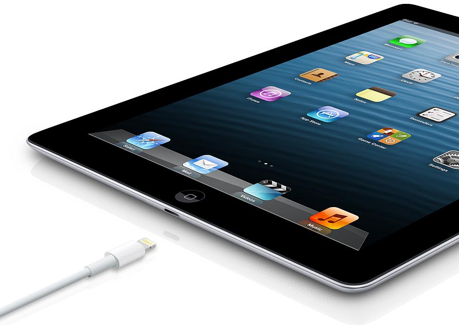 Apple iPad 4 Wi-Fi 4G charge