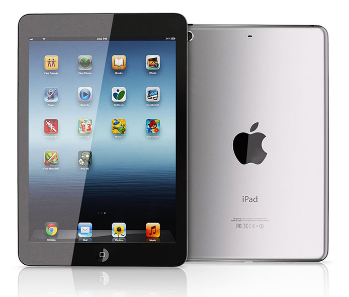 Apple iPad mini Wi-Fi 4G front
