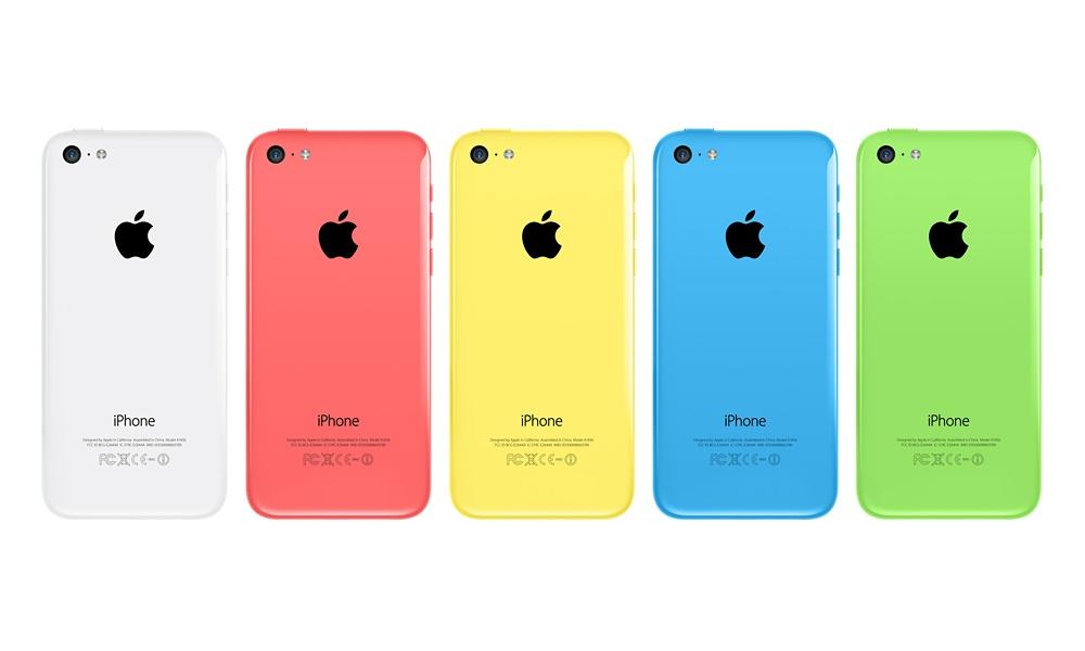 Apple iPhone 5c back