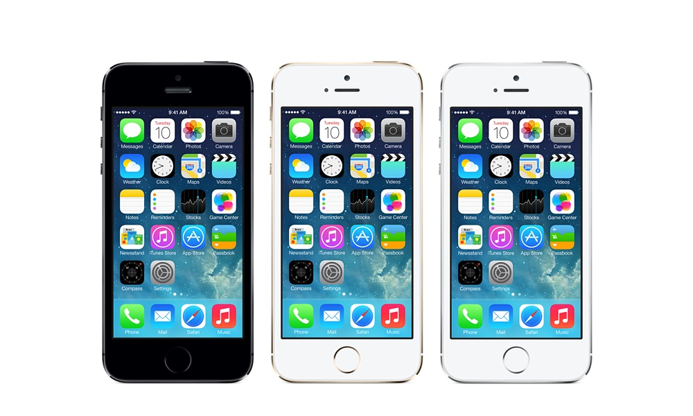 Apple iPhone 5s colors