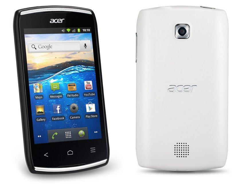 Acer Liquid Z110 colors
