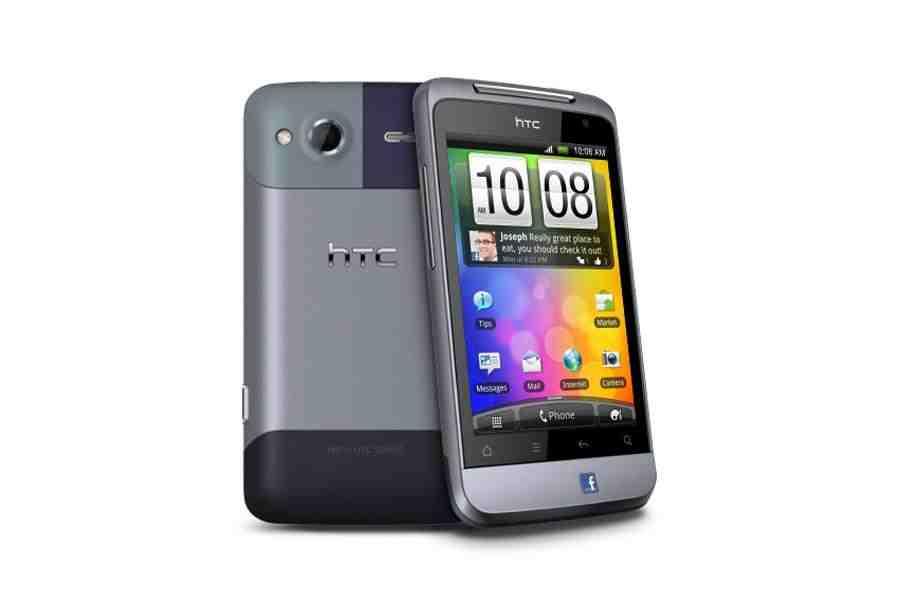 HTC Salsa silver