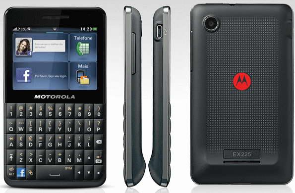 سعر ومواصفات هاتف Motorola Motokey Social