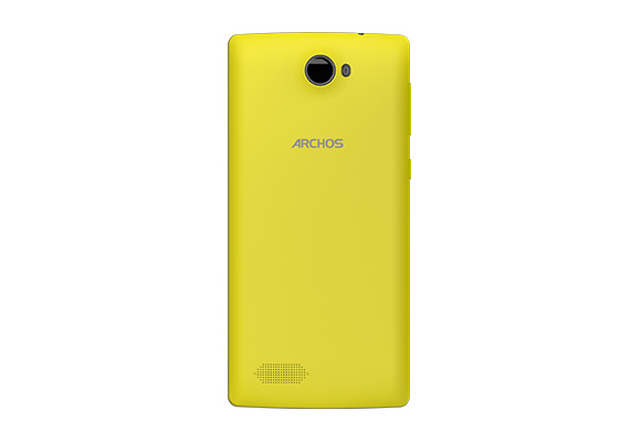 Archos 50 Diamond yellow