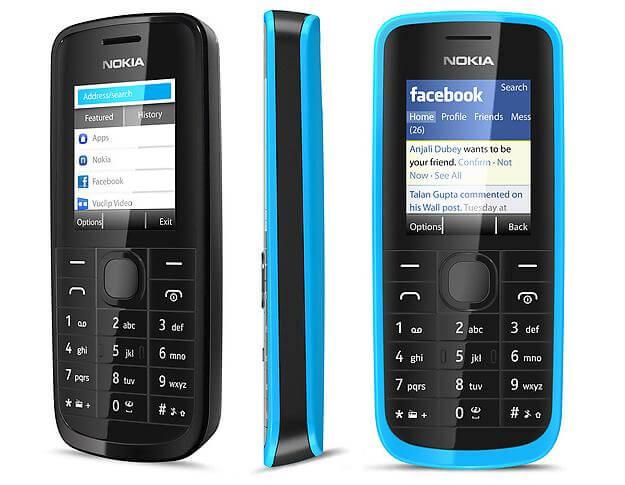 Nokia 109 mobile price