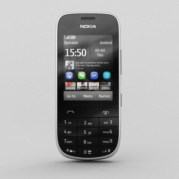 سعر ومواصفات هاتف Nokia Asha 203