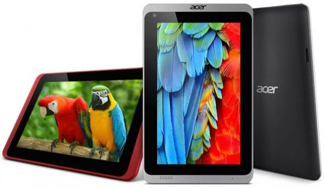 Acer Iconia B1-720 tablet photo