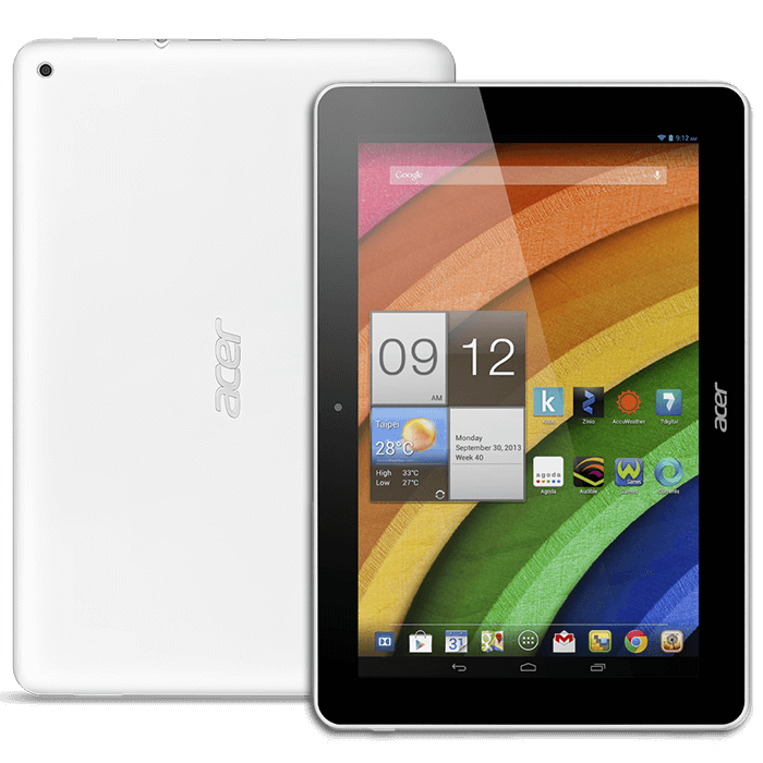 Acer Iconia Tab A3 white