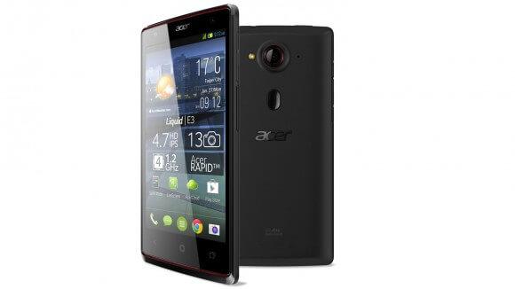 Acer Liquid E3 mobile price