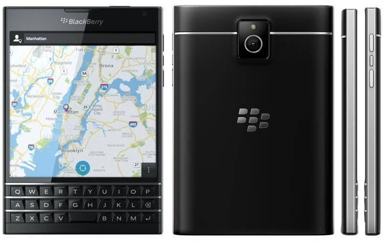 BlackBerry Passport mobile photo