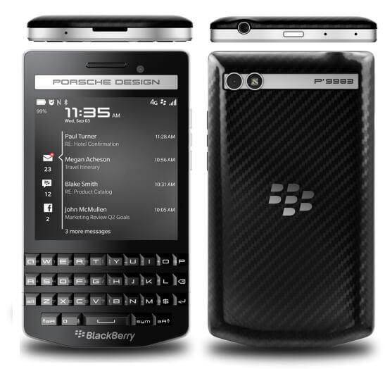 BlackBerry Porsche Design P'9983 photo