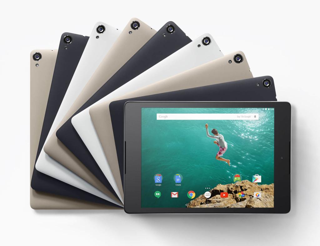 HTC Nexus 9 tablet photo