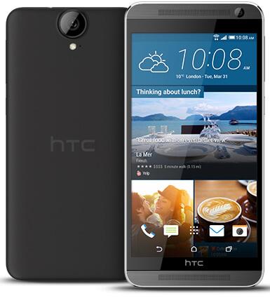HTC One E9 Plus mobile photo