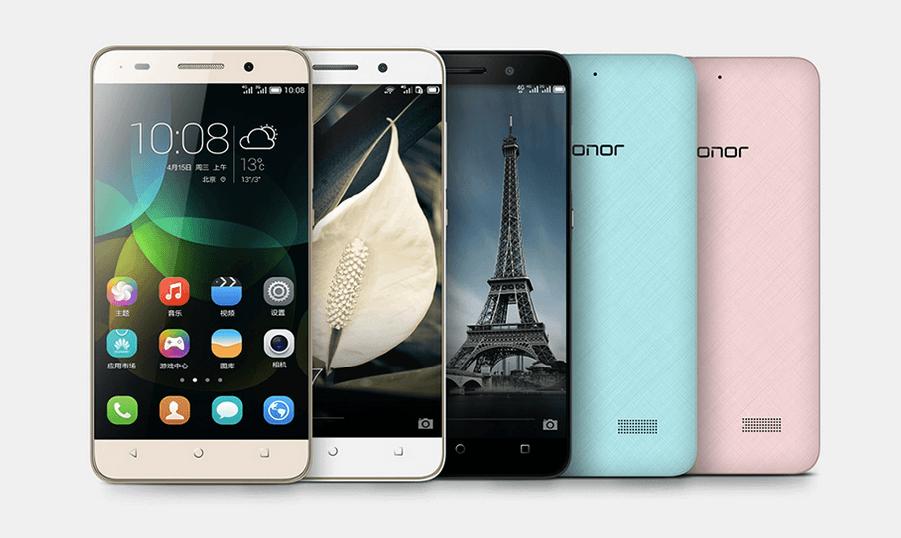 Huawei Honor 4C mobile colors