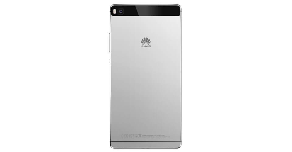 Huawei P8 mobile back white