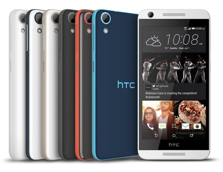 HTC Desire 626 USA colors