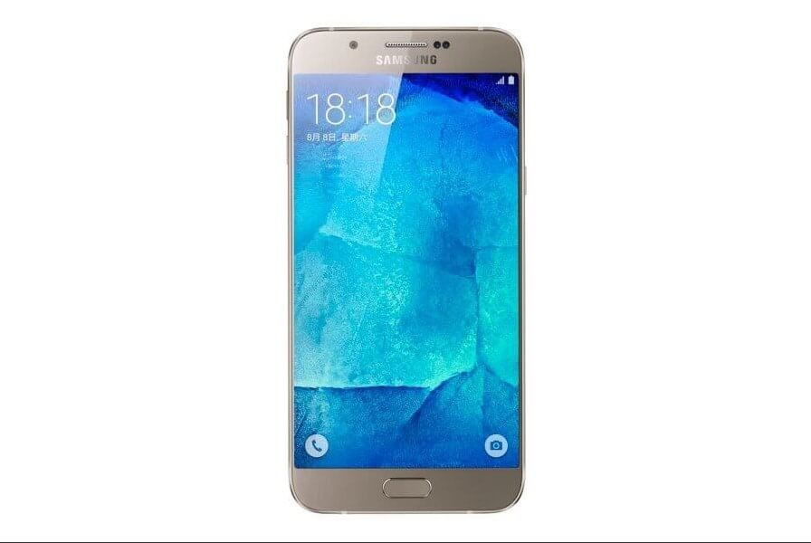 Samsung Galaxy A8 mobile photo