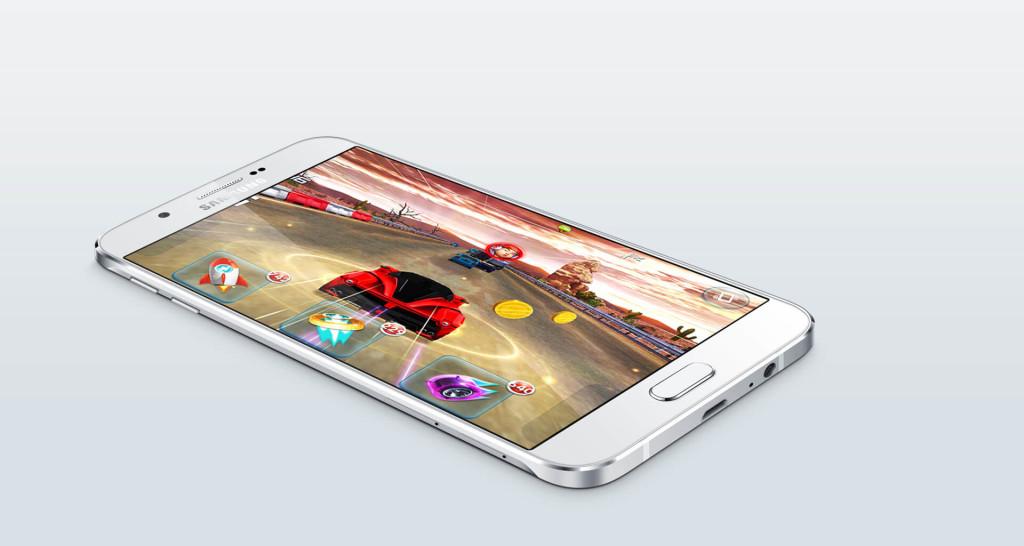 Samsung Galaxy A8 screen