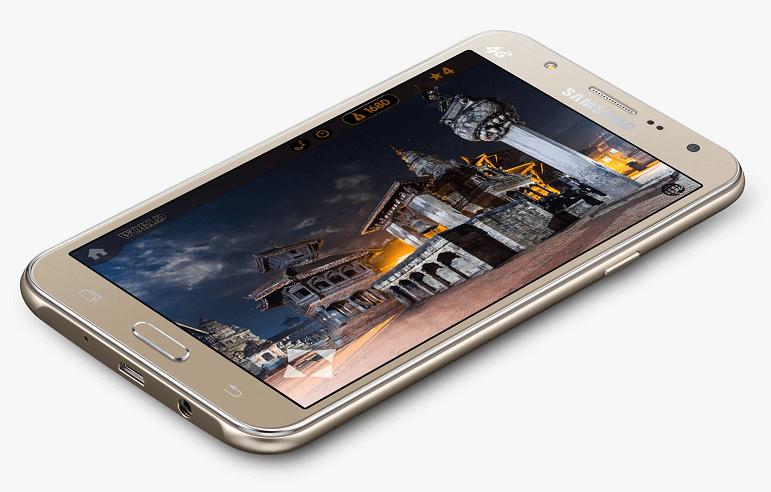 Samsung Galaxy J7 mobile photo