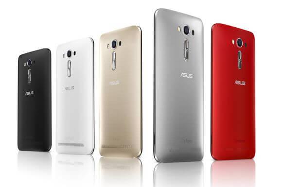 Asus Zenfone 2 Laser ZE601KL colors