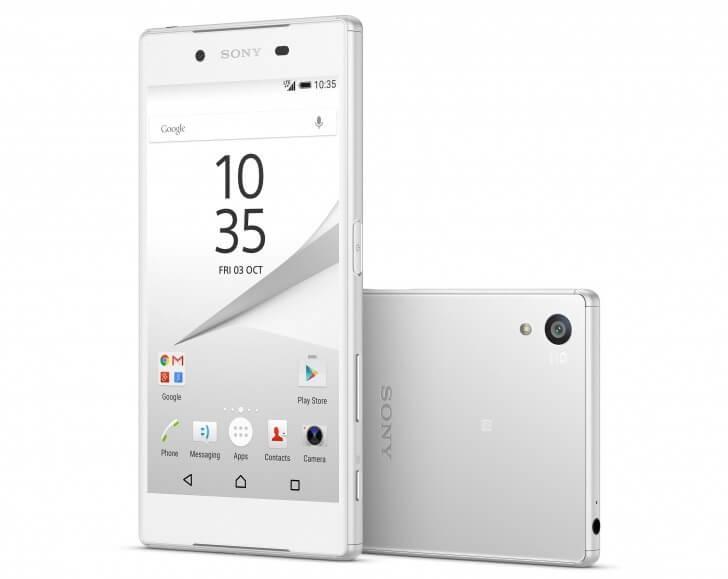 Sony Xperia Z5 mobile photo