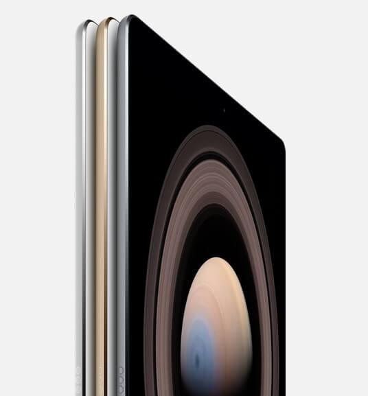 apple ipad pro photo colors