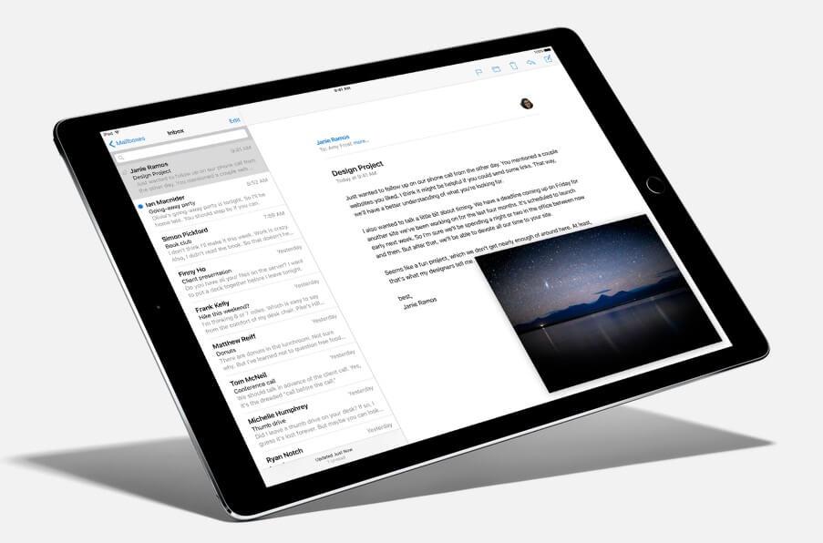 apple ipad pro screen