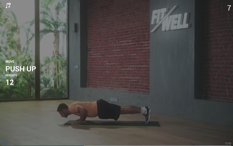 تطبيق FitWell Fitness للياقة البدنية مجانا على متجر جوجل بلاي
