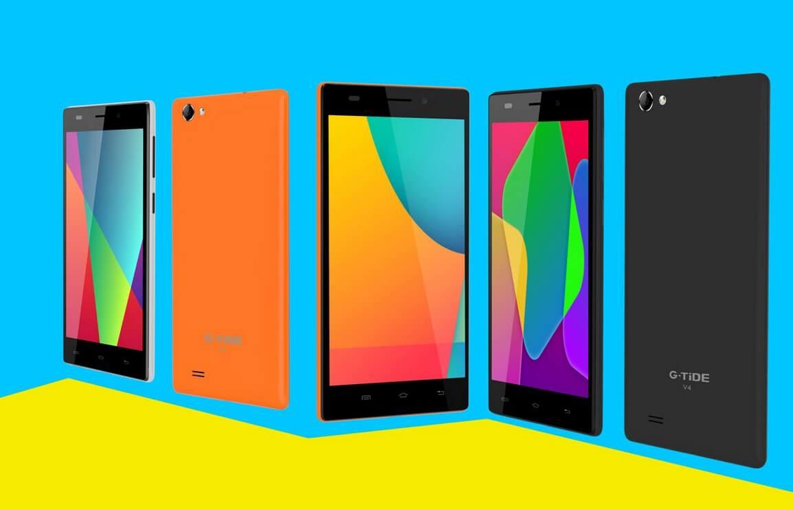 G Tide V4 mobile colors