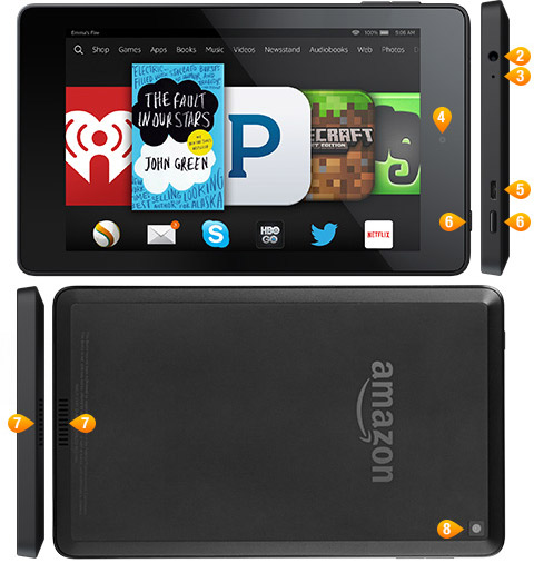 Amazon Fire HD 6 tablet