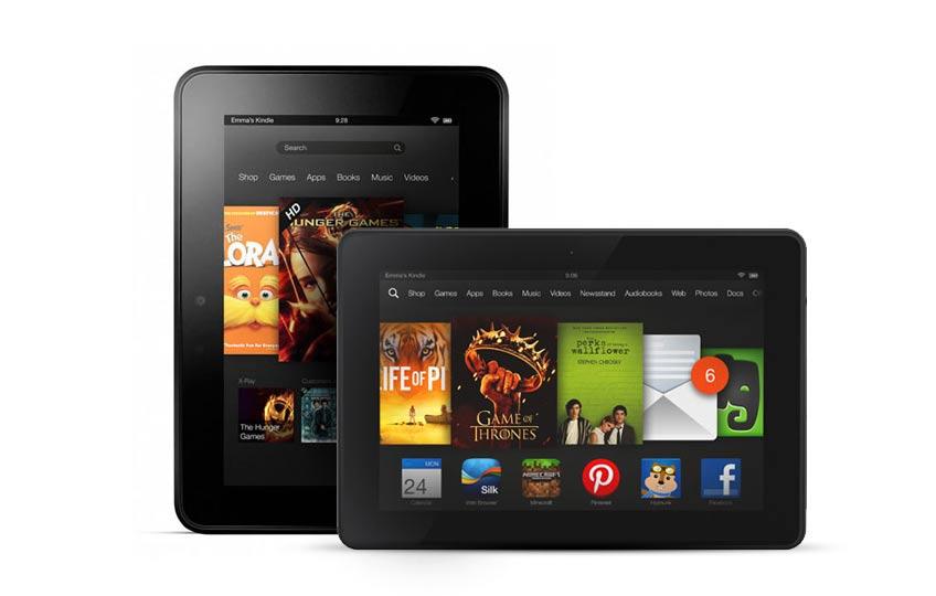 Amazon Kindle Fire HD 2013 tablet
