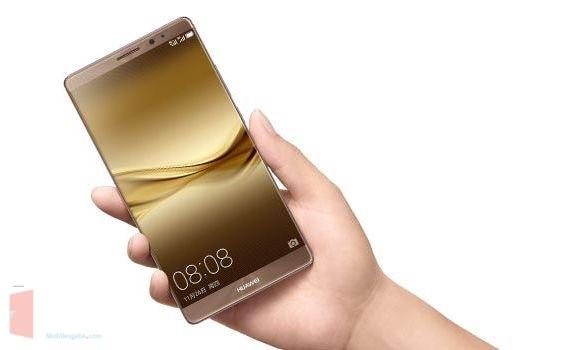 Huawei Mate 8 gold