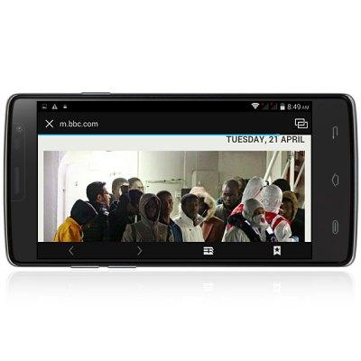 Ulefone Be Pure screen