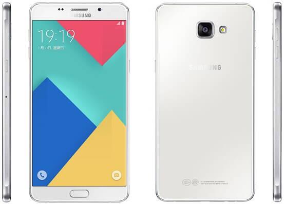 Samsung Galaxy A9 mobile photo