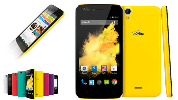 Wiko Birdy colors
