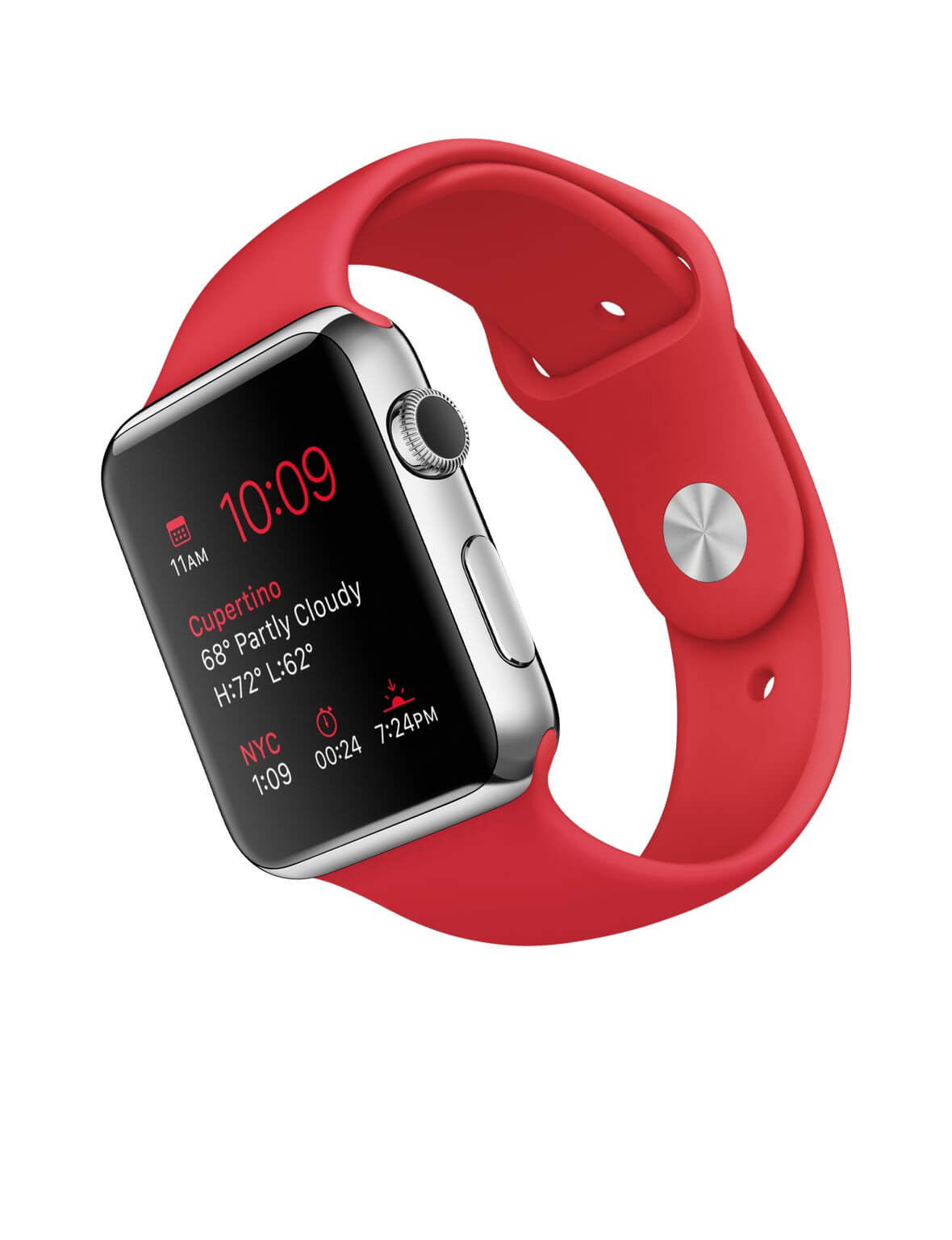 Apple Watch 42mm red