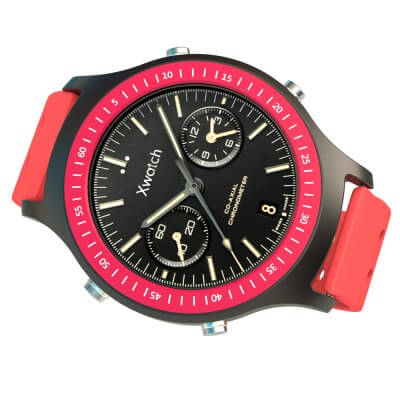 Bluboo Xwatch Sports red