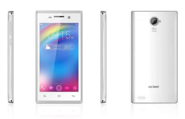 Gionee Ctrl V4 mobile