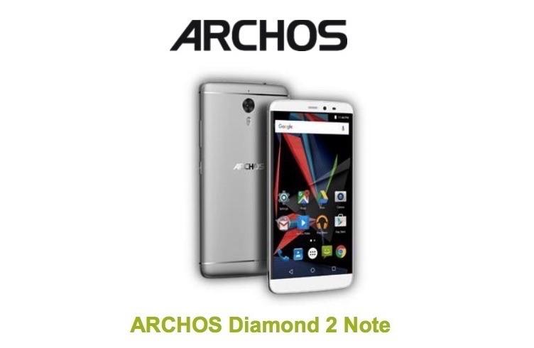 هاتف اركوس الجديد Archos Diamond 2 Note