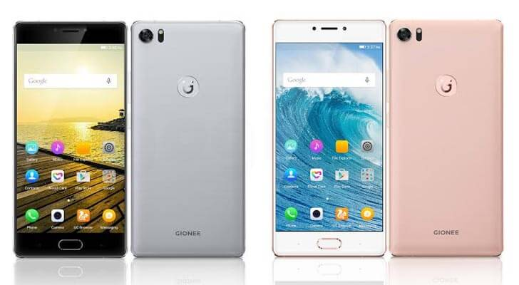 Gionee S8 colors