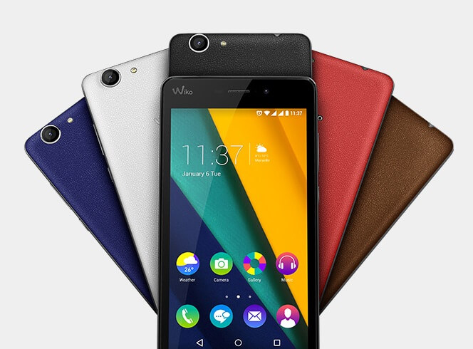 Wiko Pulp Fab colors
