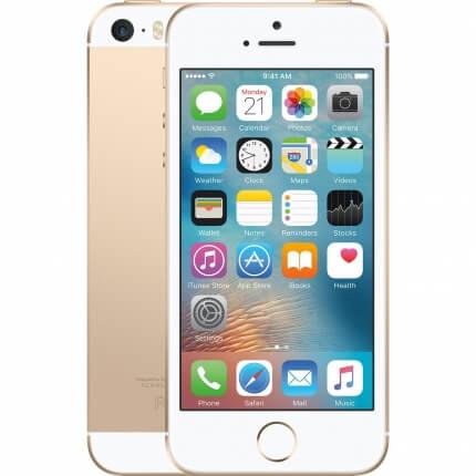 Apple iPhone SE الذهبى