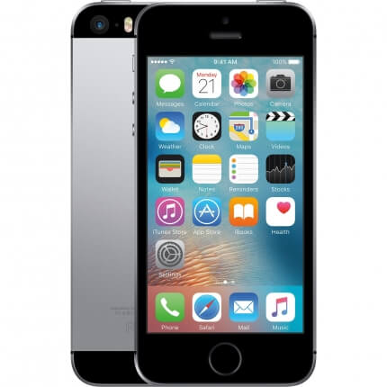 Apple iPhone SE الرمادى