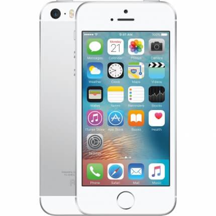 Apple iPhone SE الفضى