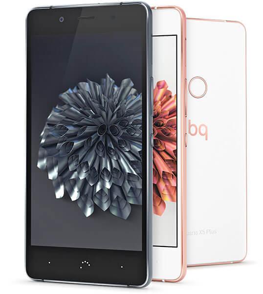 BQ Aquaris X5 Plus mobile colors