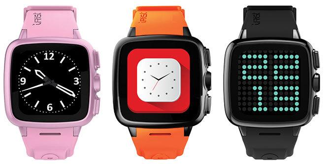Intex IRist Smartwatch color