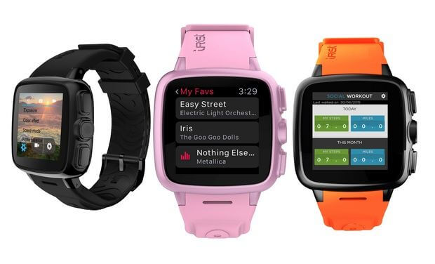 Intex IRist Smartwatch colors
