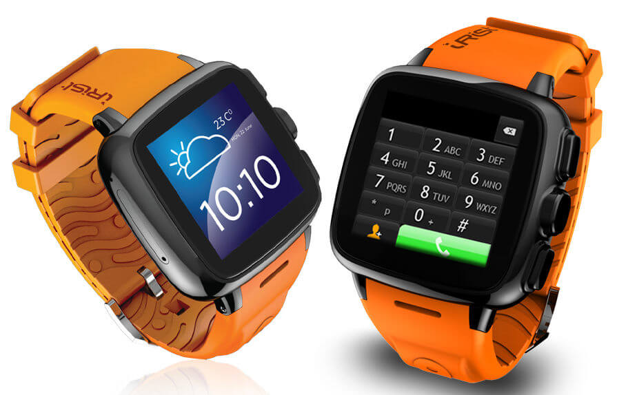 Intex IRist Smartwatch photo