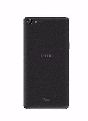 Tecno Boom J8 back