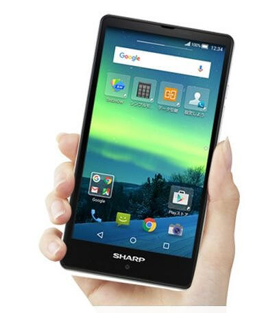 Sharp Aquos SH-M02 mobile